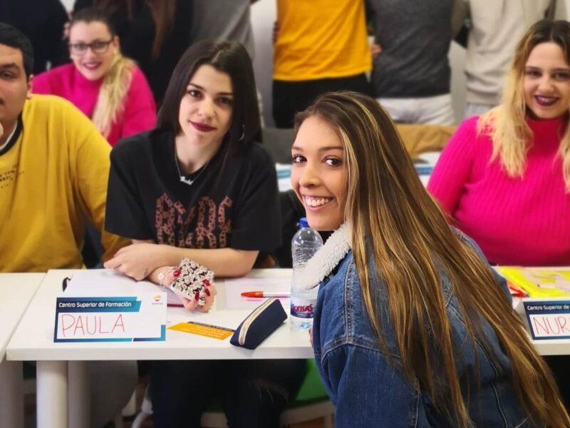 Jóvenes participantes en el proyecto de Fundación Iter y Fundación Repsol
