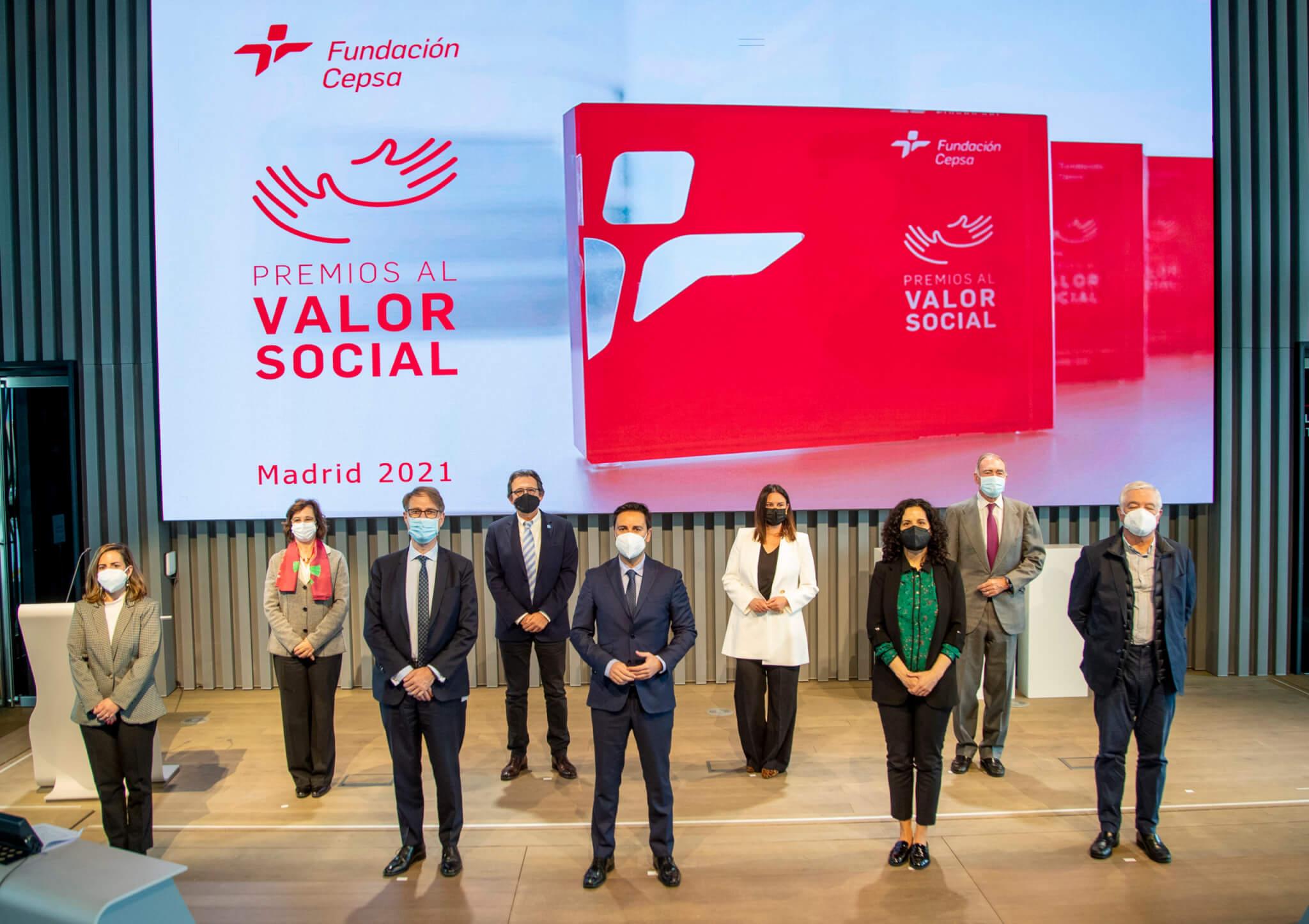Ceremonia de entrega de Premios al Valor Social